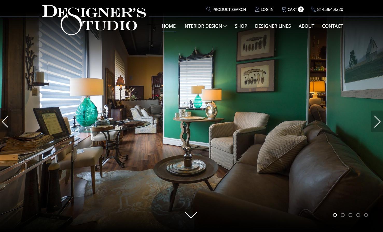 Designer's Studio green room
